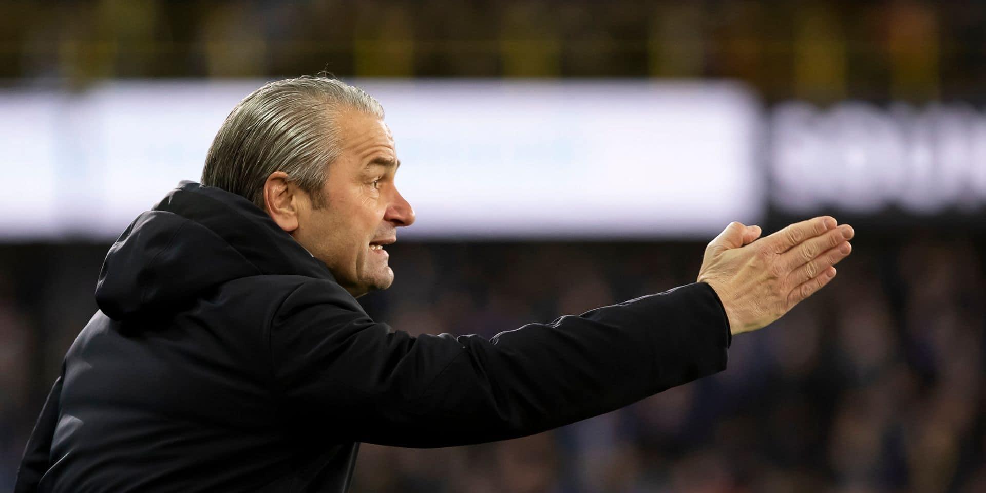 L'ancien entraîneur du Cercle Bernd Storck retrouve un banc en Slovaquie