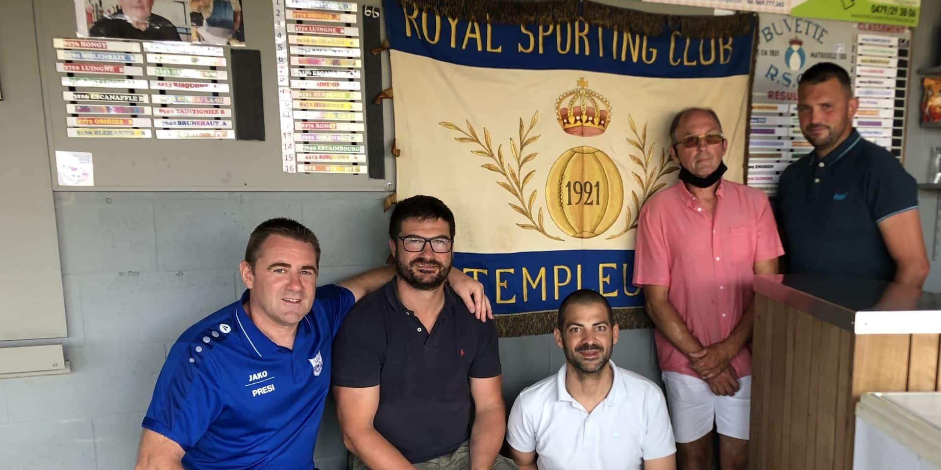 Templeuve: 100 ans et compte quelques chantiers pour son club de foot