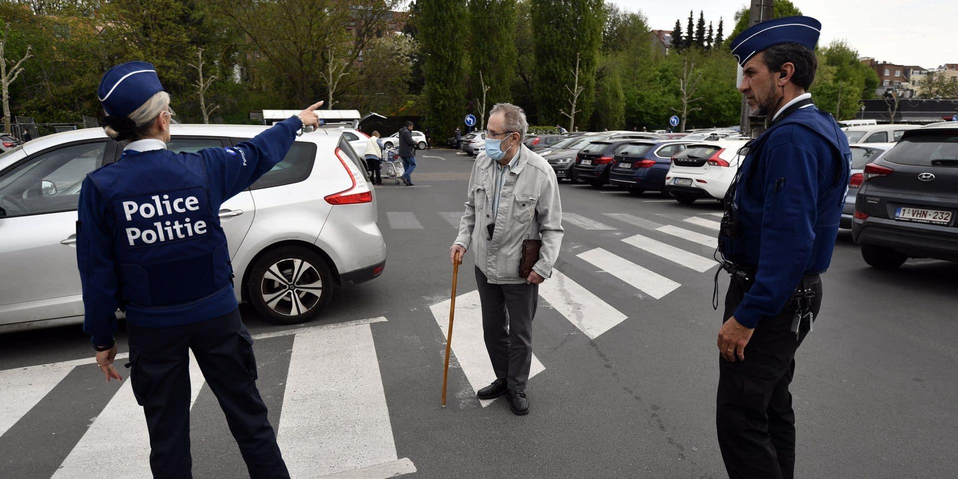 Mons-Borinage: malgré les températures printanières, peu de PV covid dressés par nos zones de police