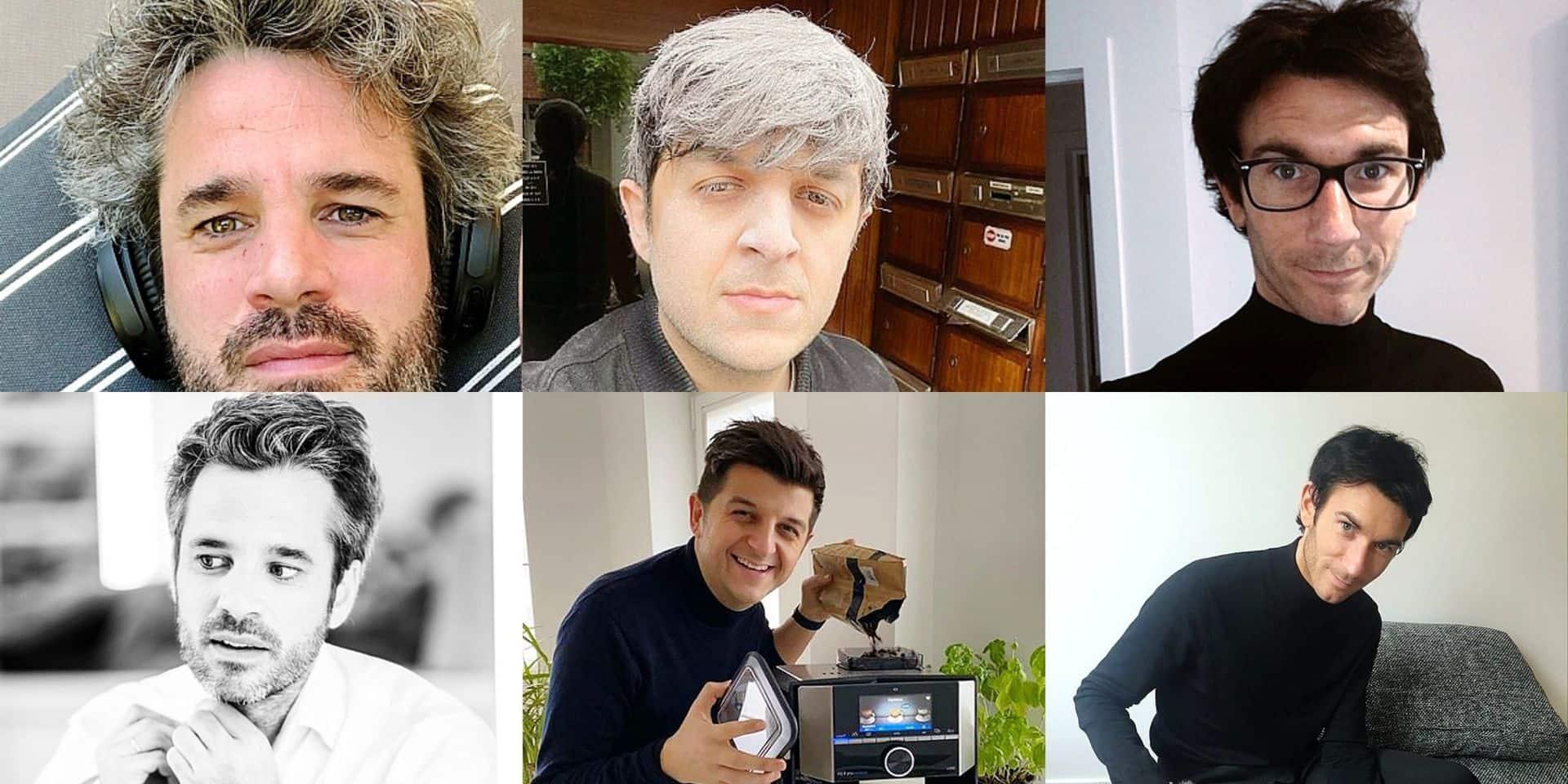 Il était temps que les coiffeurs reprennent du service : l'avant/après confinement des coiffures de people belges !