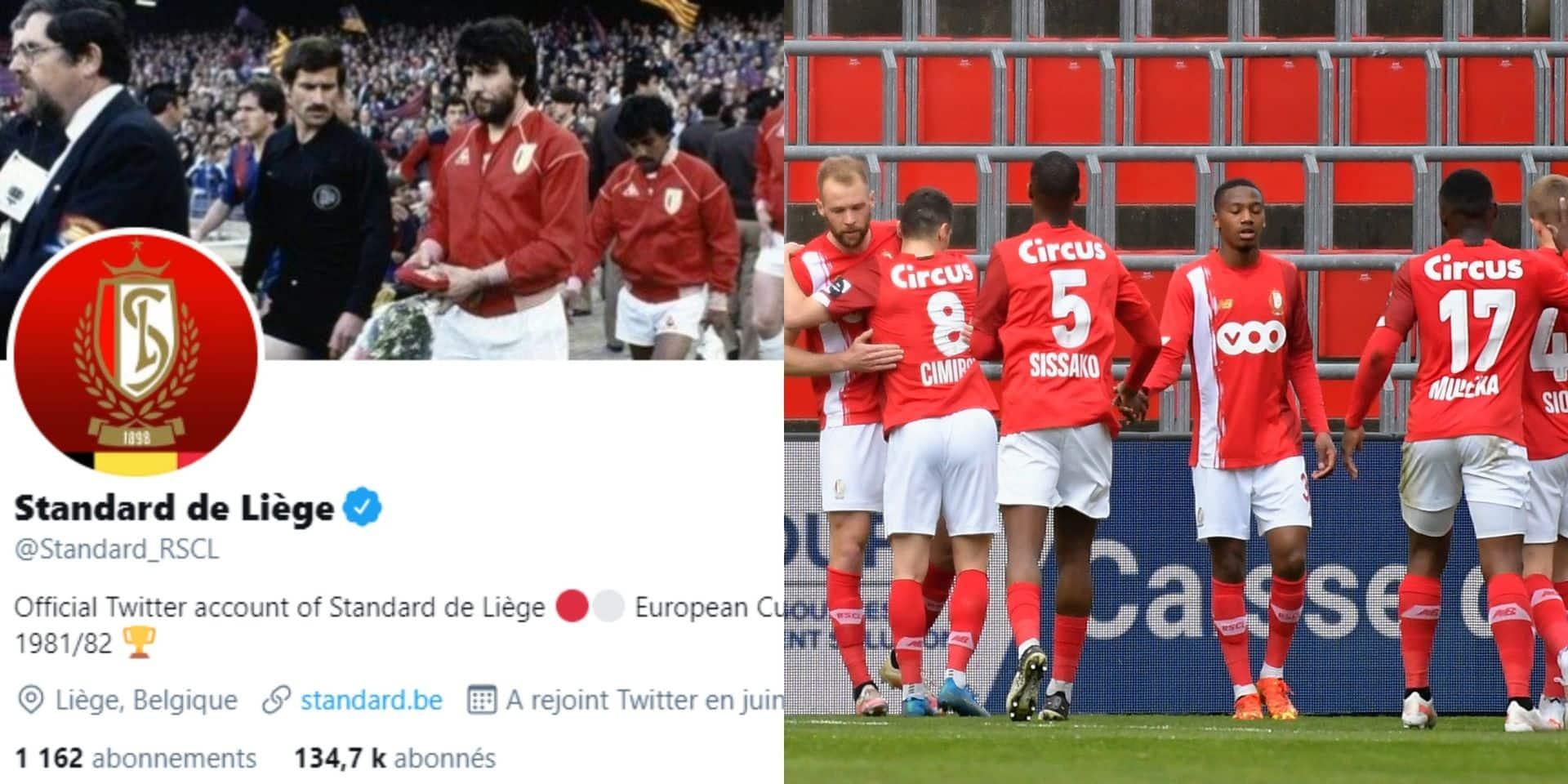 """Le Standard réagit avec humour à la création de la Super Ligue: """"Nous recevons enfin ce que nous méritions"""""""