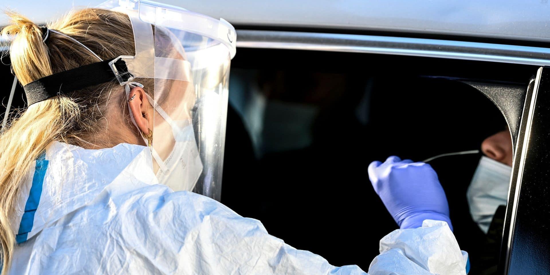 Coronavirus en Belgique : les nouvelles infections sous la barre des 2.000 par jour en moyenne