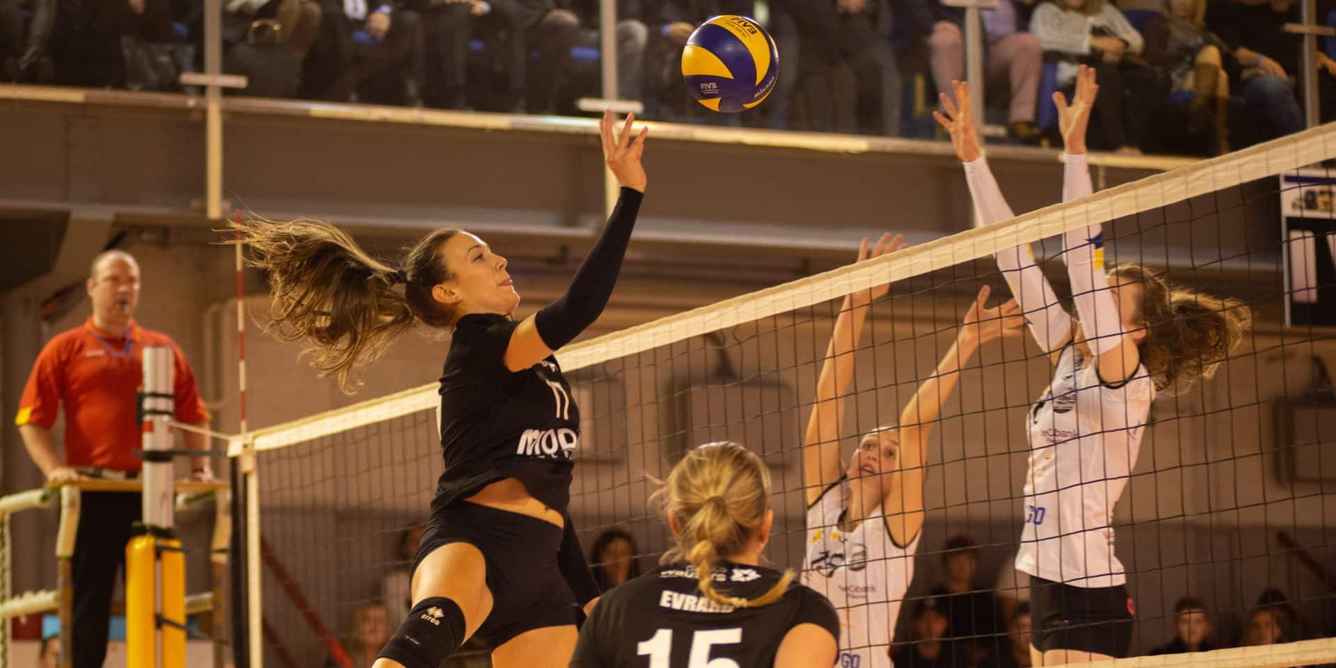 Charleroi Volley : Camille Hannaert rempile, Dorotea Cosic ne reviendra pas !