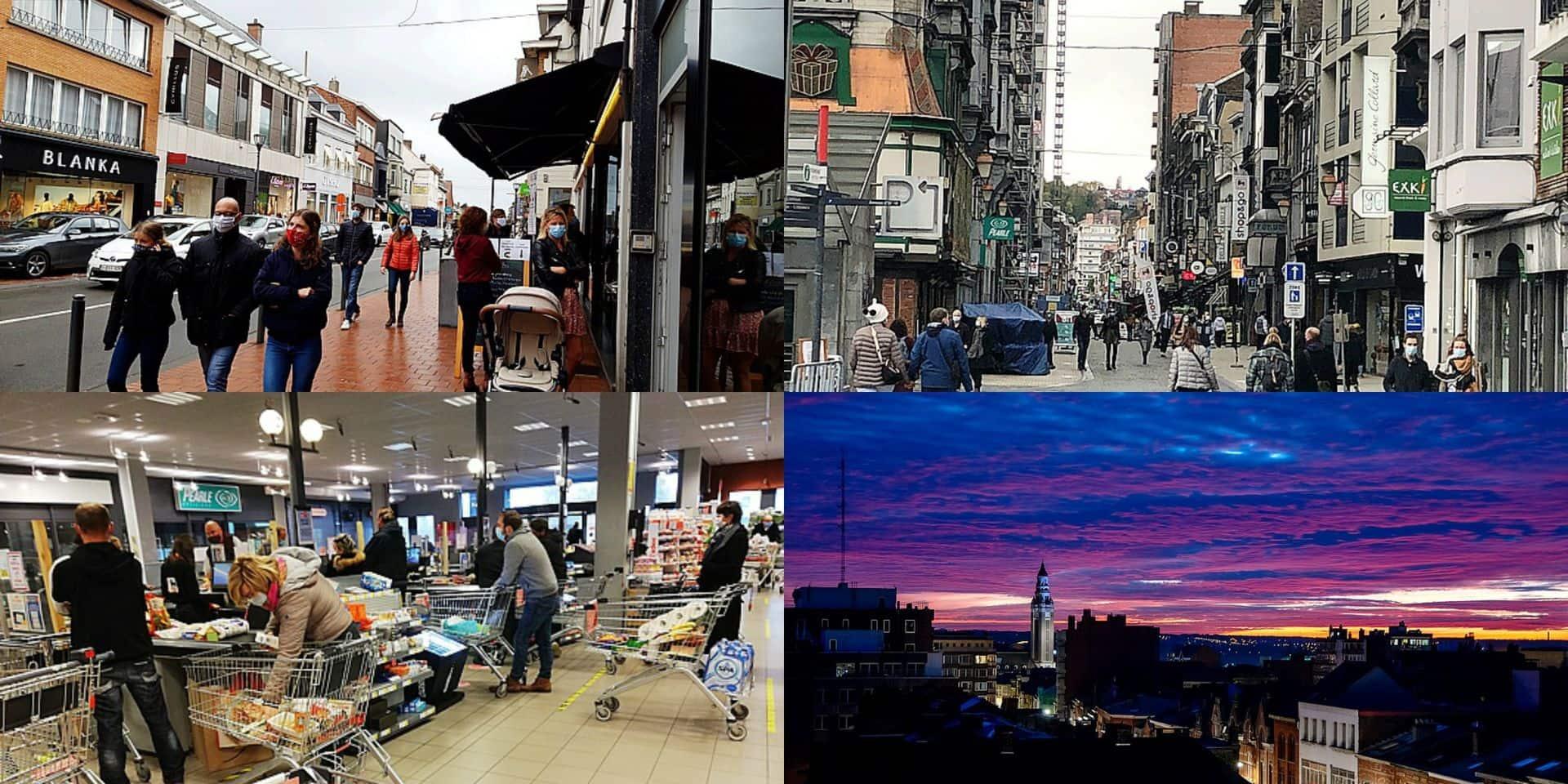 Bruxelles, Liège, Waterloo, Charleroi, Tournai: les nouvelles mesures plutôt bien respectées ce samedi