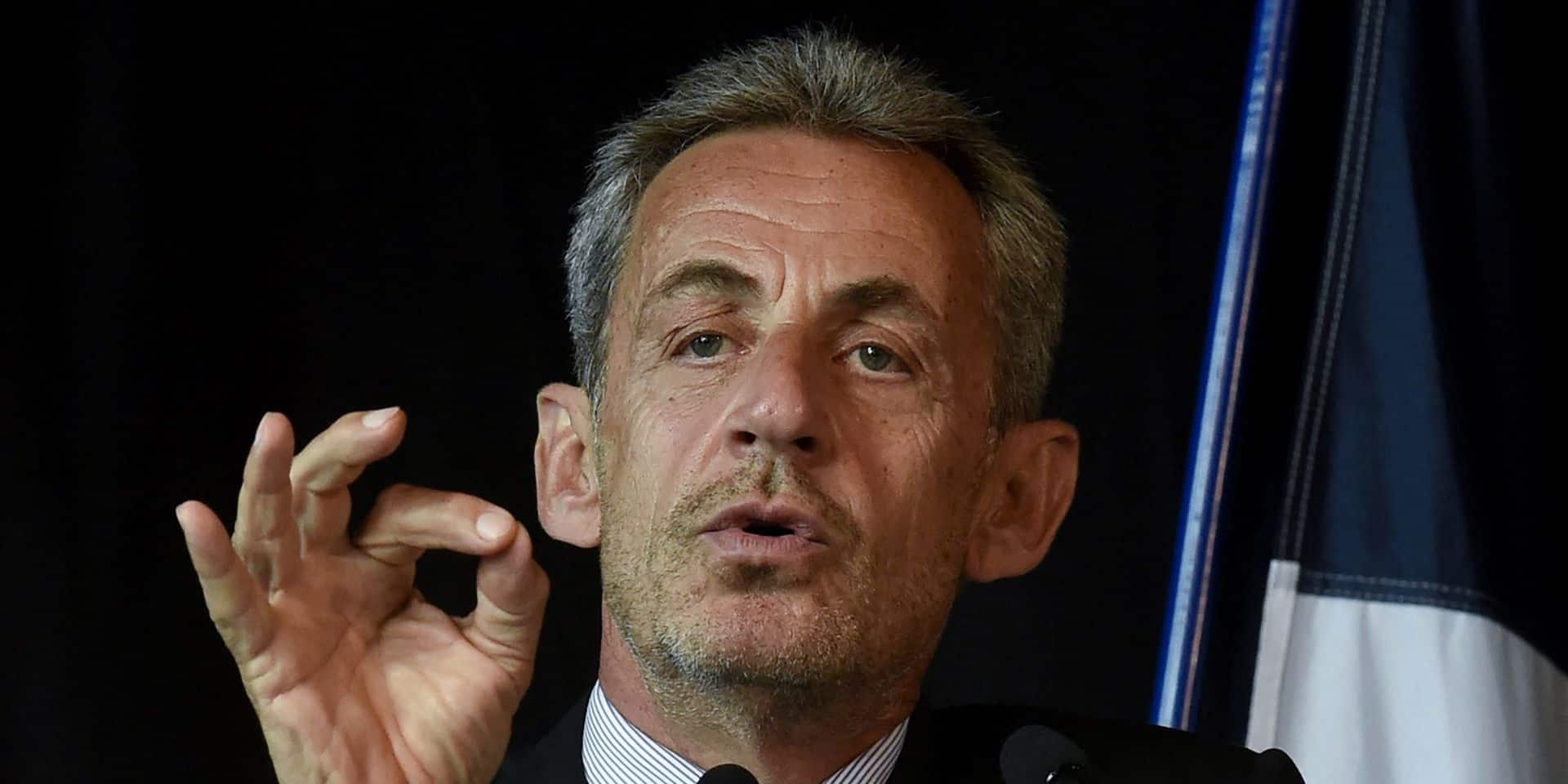 """Nicolas Sarkozy à propos de l'immigration en France : """"Ce n'est pas un self-service une nation!"""""""