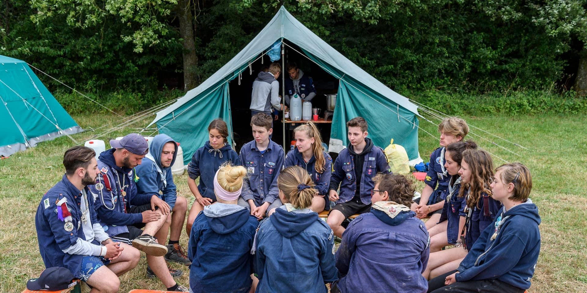 Le chassé-croisé des camps scouts : voici les chiffres