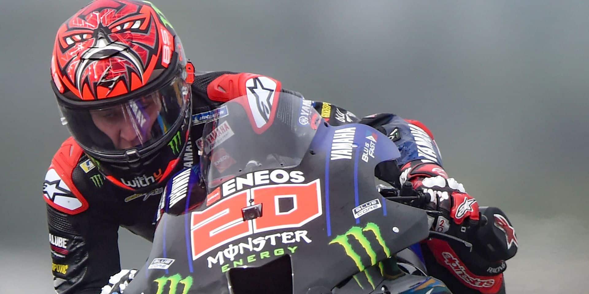 Moto GP: Quartararo en pole à domicile