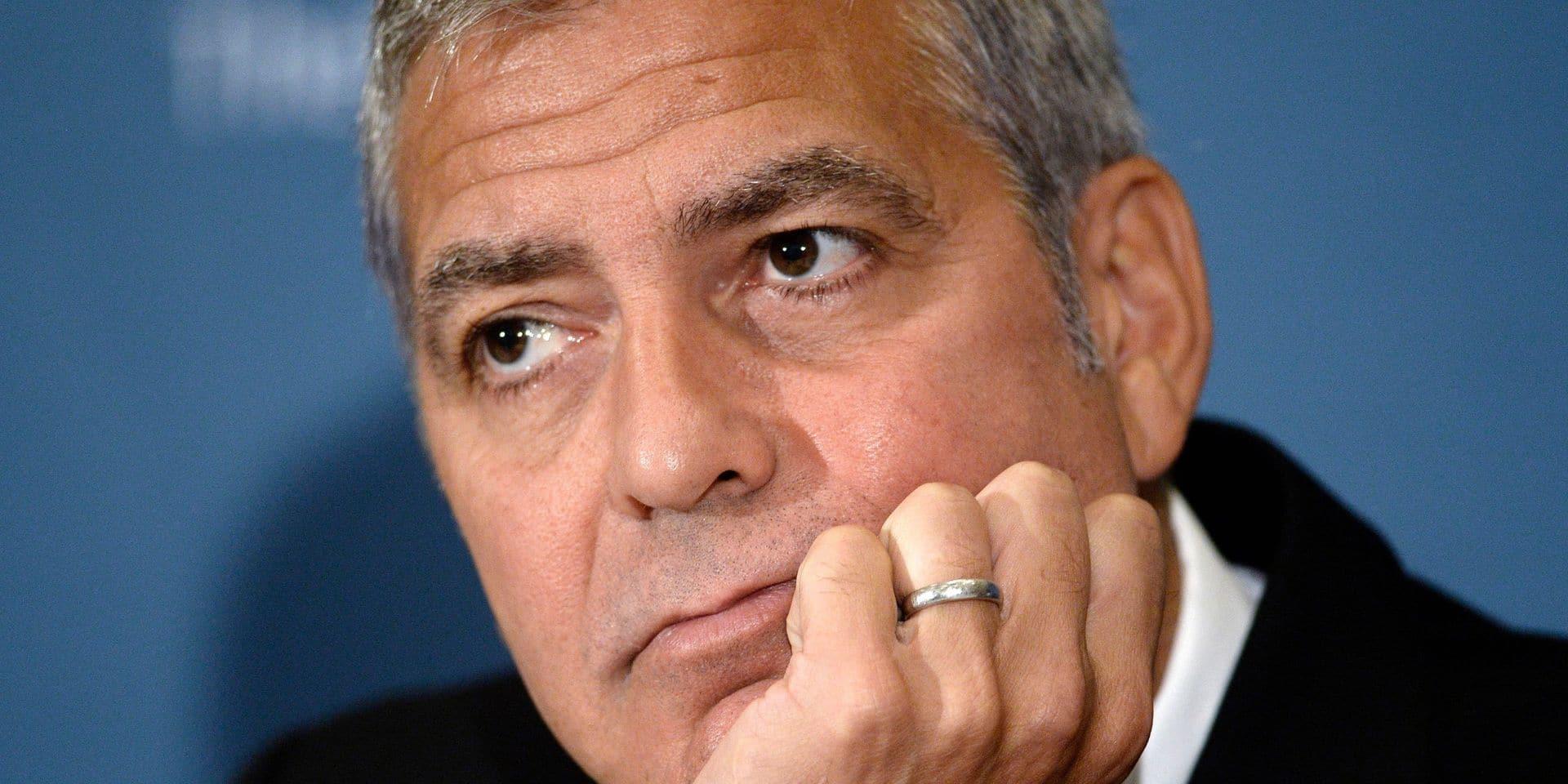 Scandale chez Nespresso, George Clooney réagit
