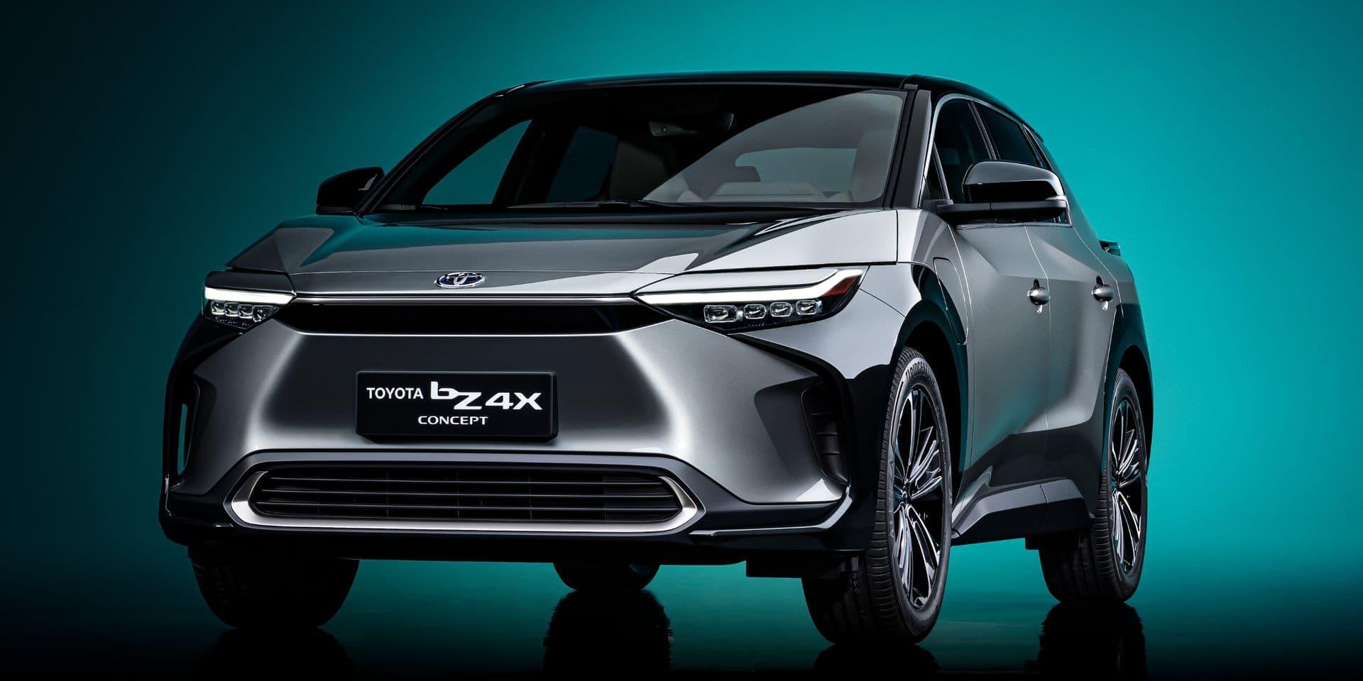 Voici à quoi ressemblera le SUV électrique de Toyota