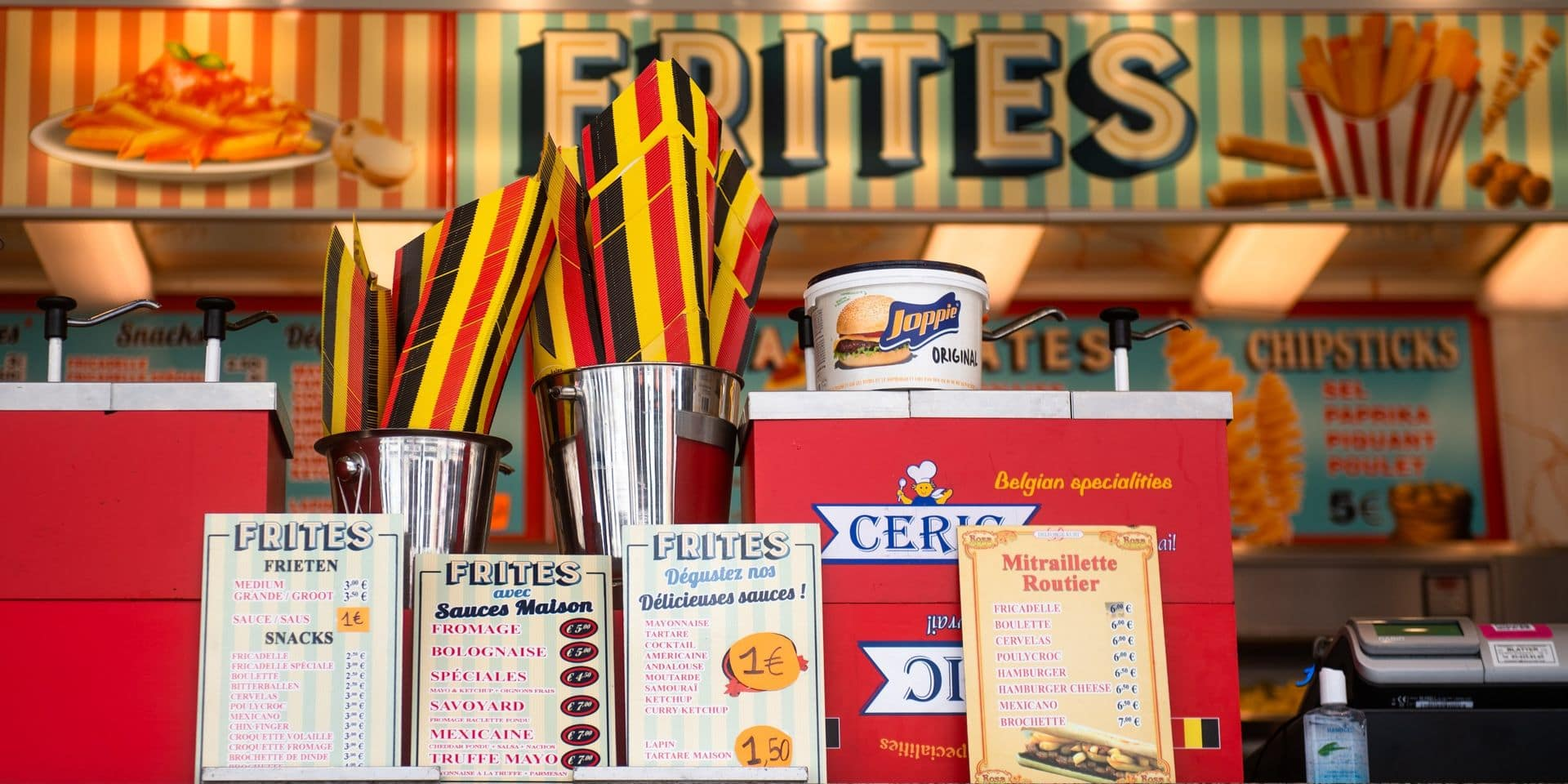 """""""Même avec 50 cents de plus pour la sauce des frites, la Foire du Midi reste abordable"""""""