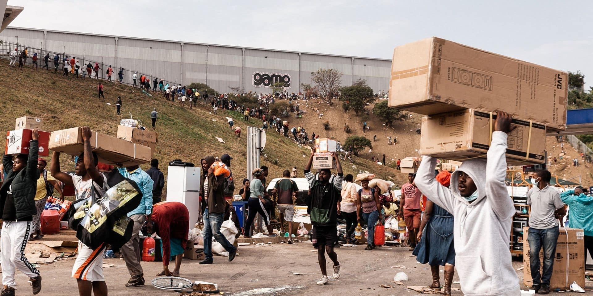 Afrique du Sud: nouveau bilan de 72 morts dans les violences