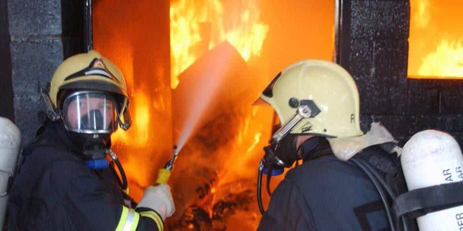 Ans : incendie dans un bâtiment de la rue des Trois Rois