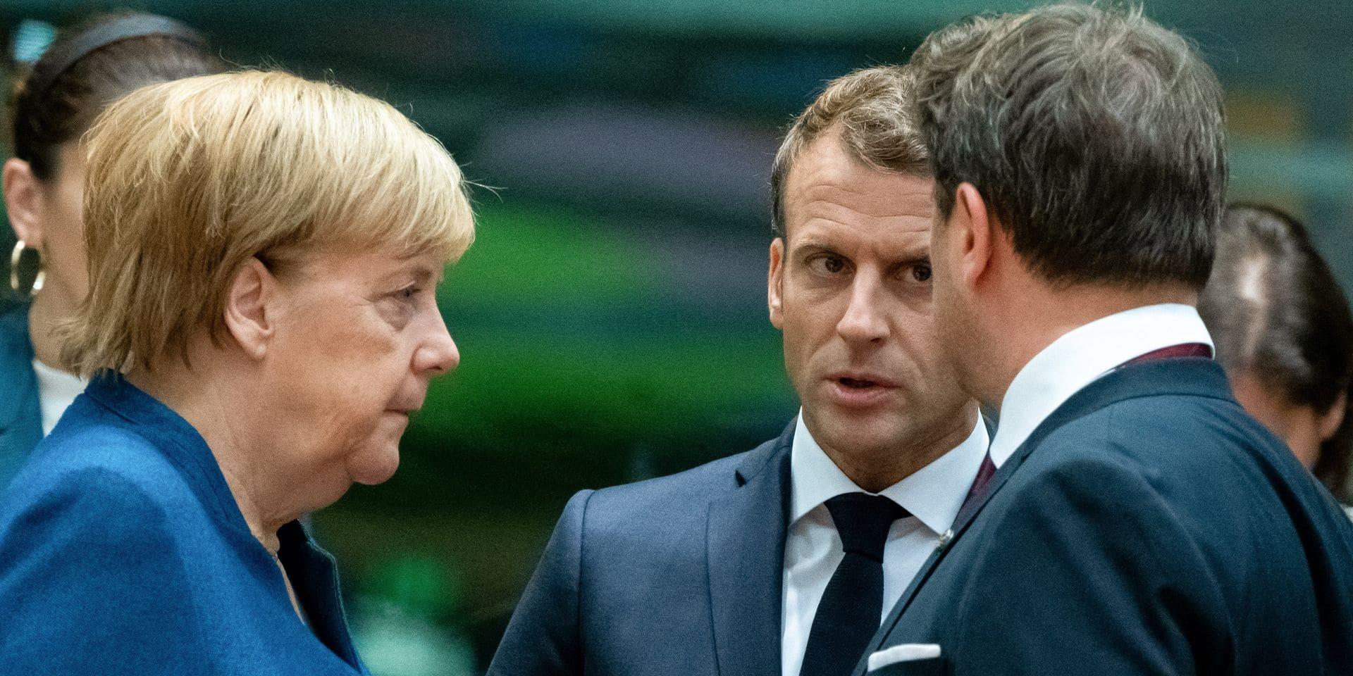 """Angela Merkel recadre Macron: """"Je ne pense pas qu'un tel jugement intempestif soit nécessaire"""""""