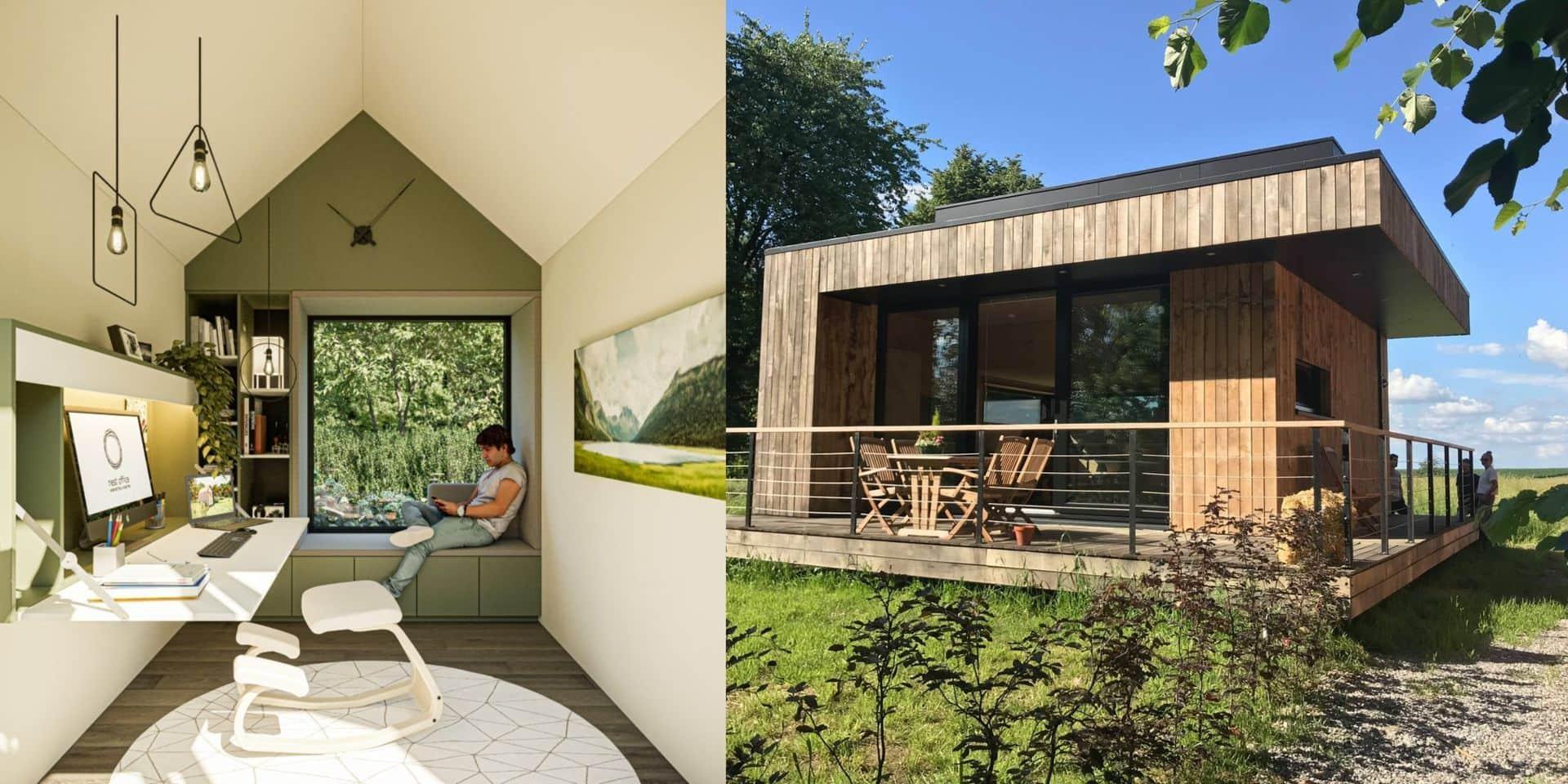 """Constructions en kit, tiny house, bureau de jardin : nos logements sont en train de devenir de plus en plus """"adaptables"""""""