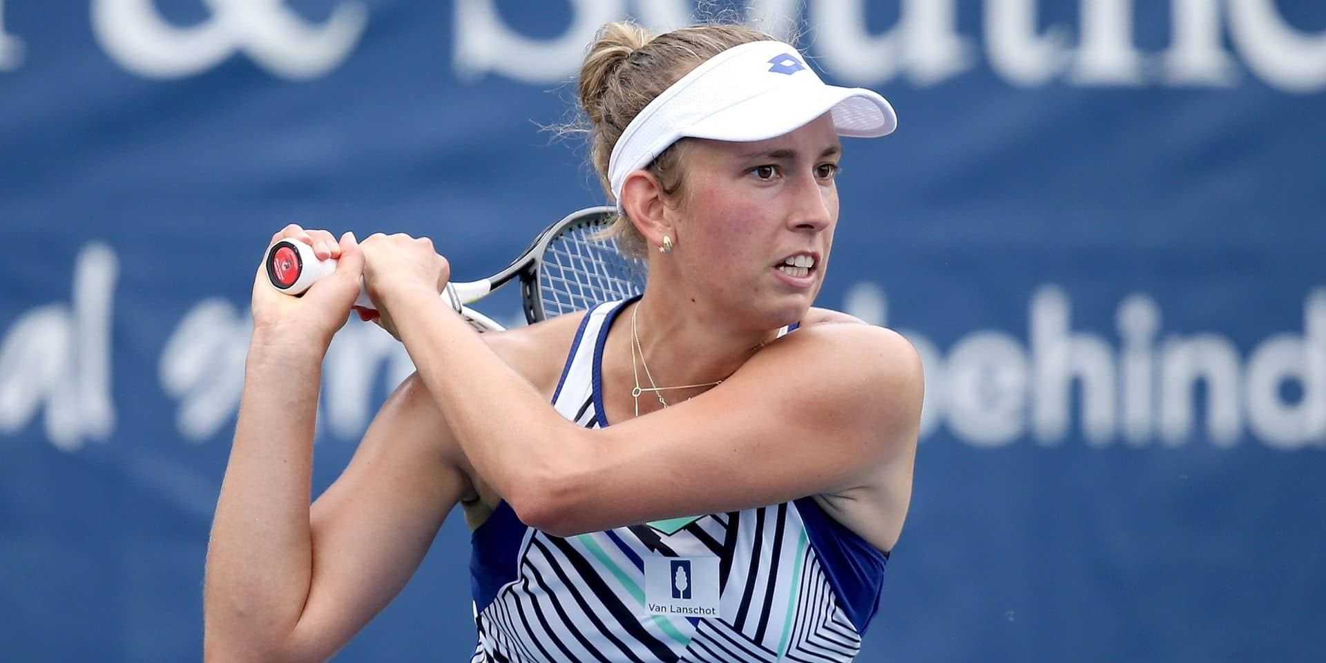 WTA Cincinnati: Elise Mertens se joue de Mladenovic et avance en 8e de finale