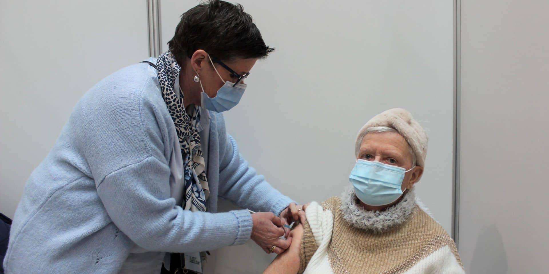 Province de Luxembourg : 17 800 personnes vaccinées en trois semaines