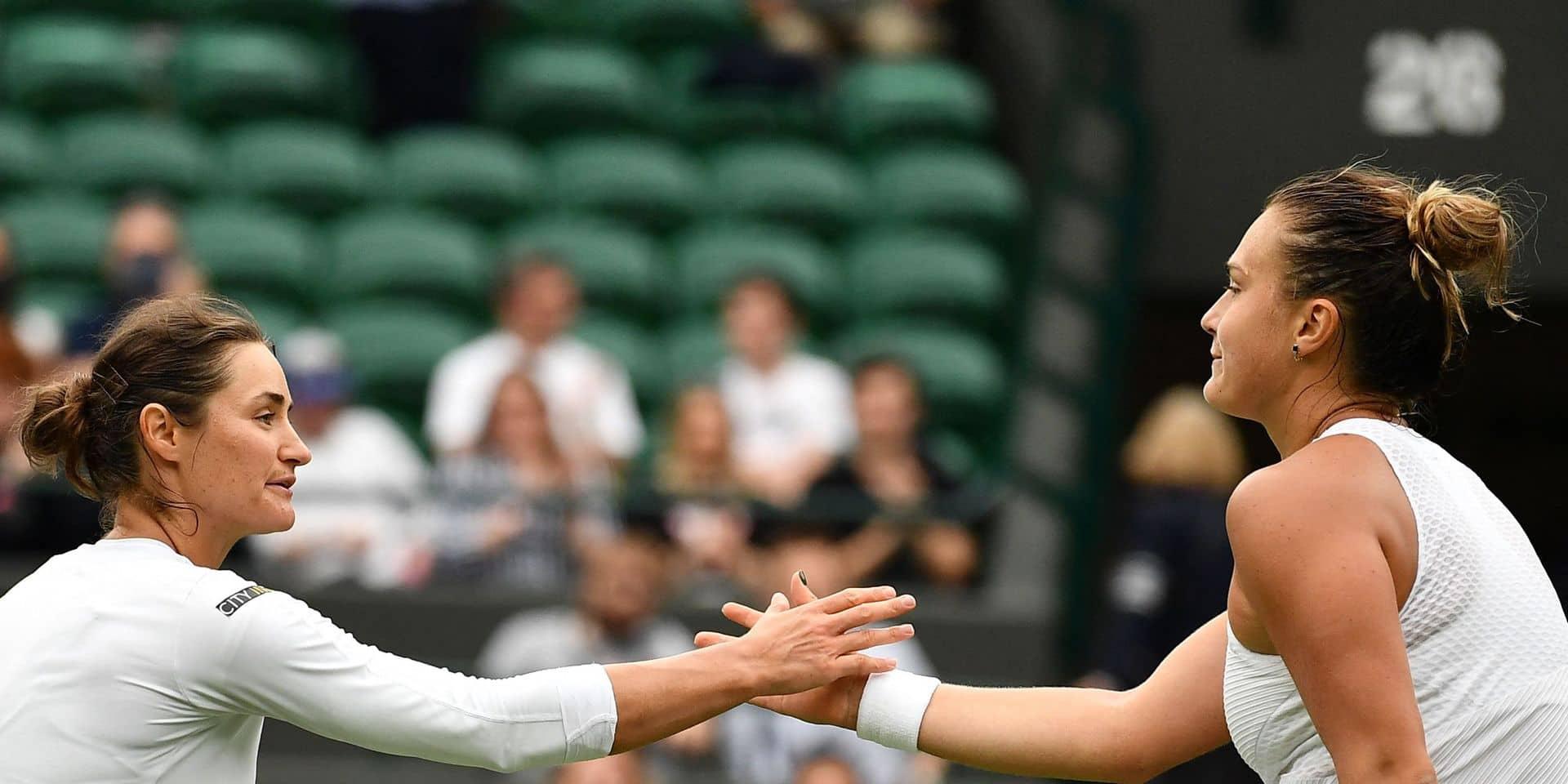 Wimbledon: Aryna Sabalenka se hisse sans difficulté au deuxième tour