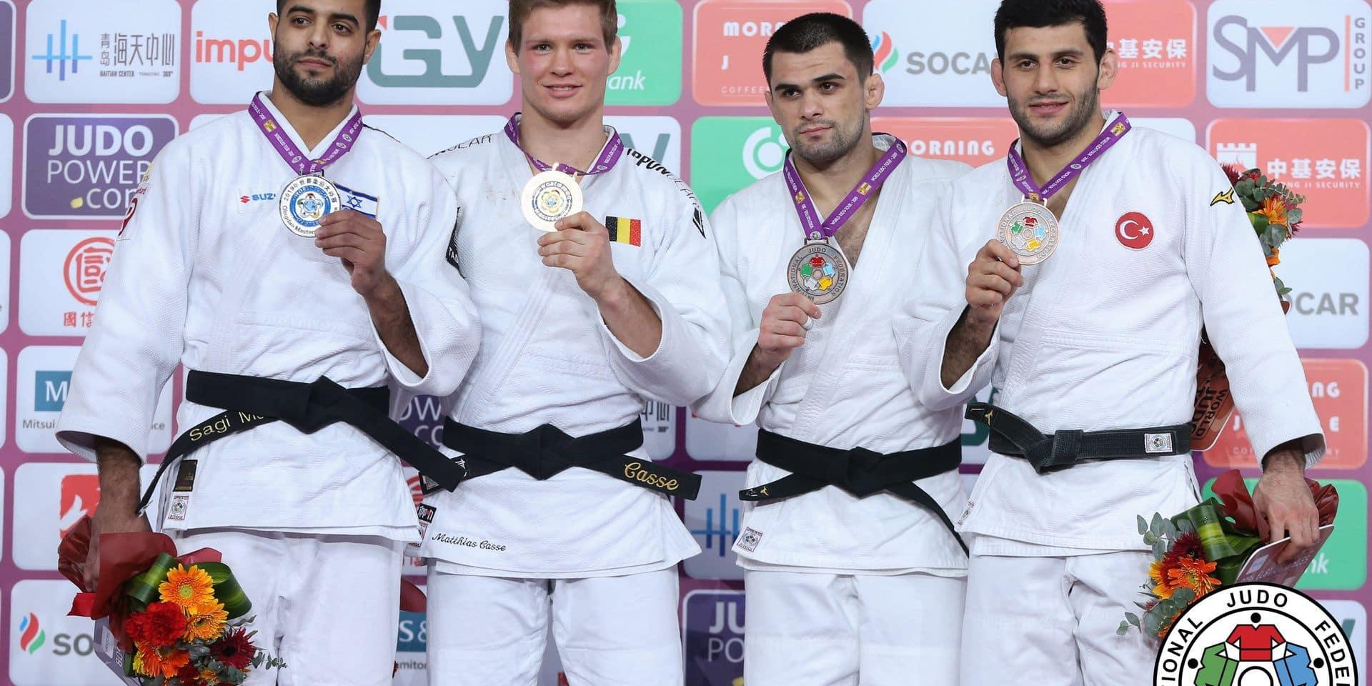 """Malgré sa médaille d'or, Matthias Casse n'était """"pas à 100 %"""": """"Je n'ai pas vu un grand Matthias sur le tatami ce vendredi"""""""