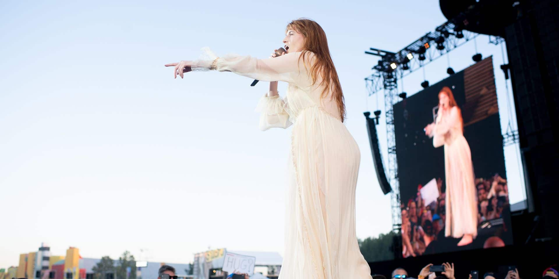 L'enchanteresse Florence + The Machine séduit Werchter