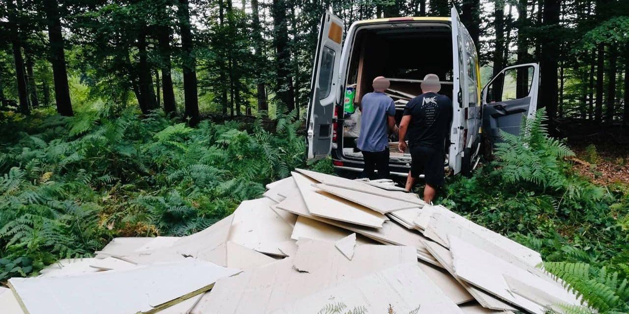 Une tonne de dépôts clandestins déversés dans la Forêt de Soignes