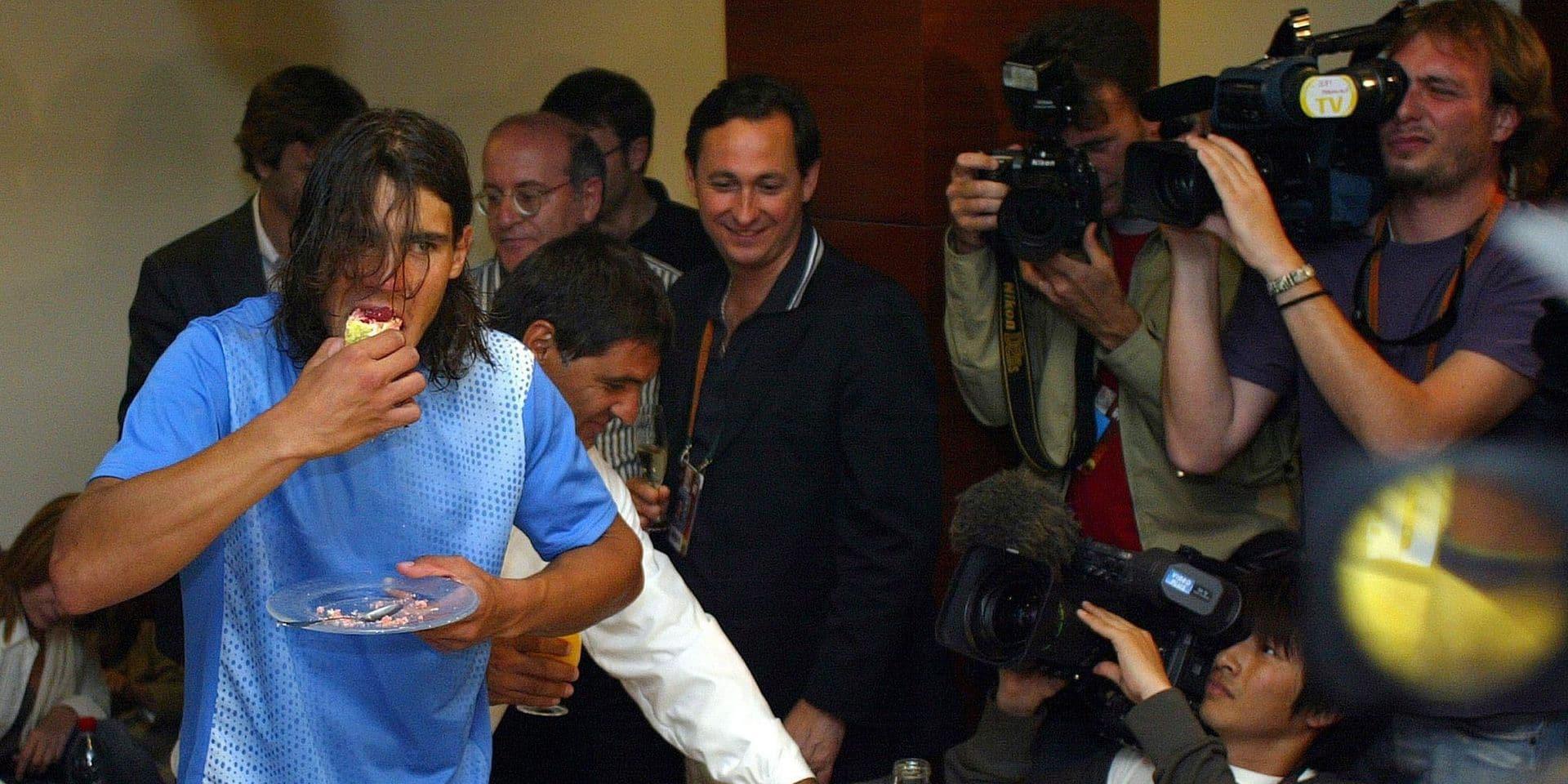 """Olivier Rochus se souvient de l'un des premiers matches de Nadal chez les pros: """"Je l'avais battu facilement"""""""