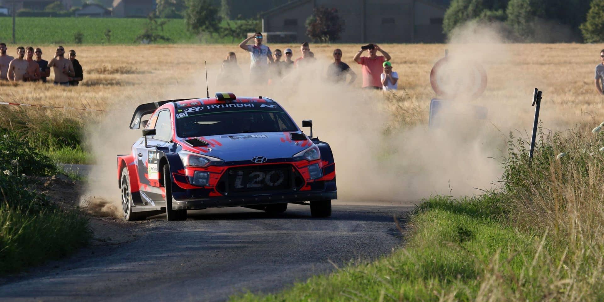 Le Covid-19 a également eu raison du Rallye d'Ypres 2020