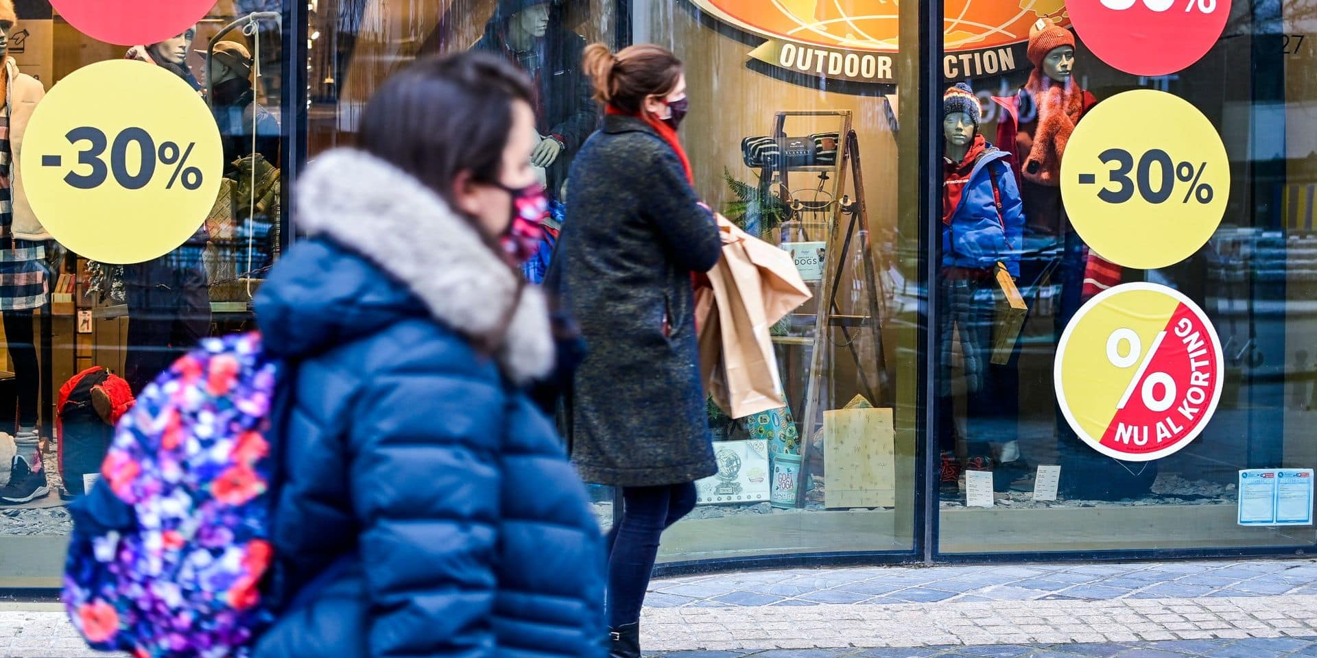 """""""C'était les pires soldes d'hiver de l'histoire"""": les commerçants font grise mine"""
