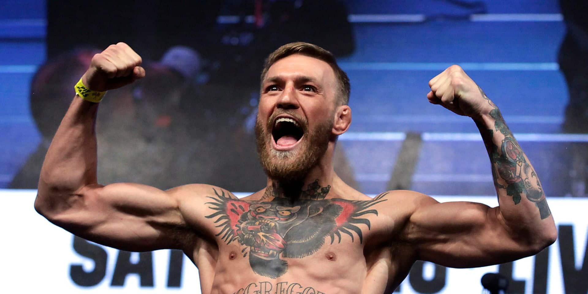 La star irlandaise de MMA Conor McGregor remise en liberté