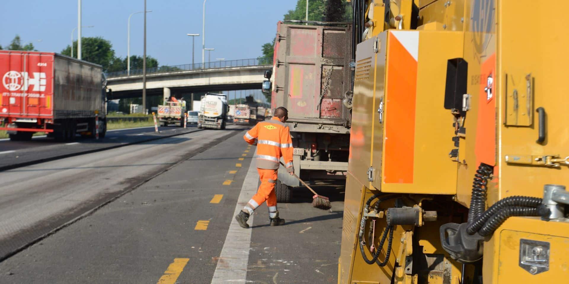 De gros travaux sur l'autoroute E42
