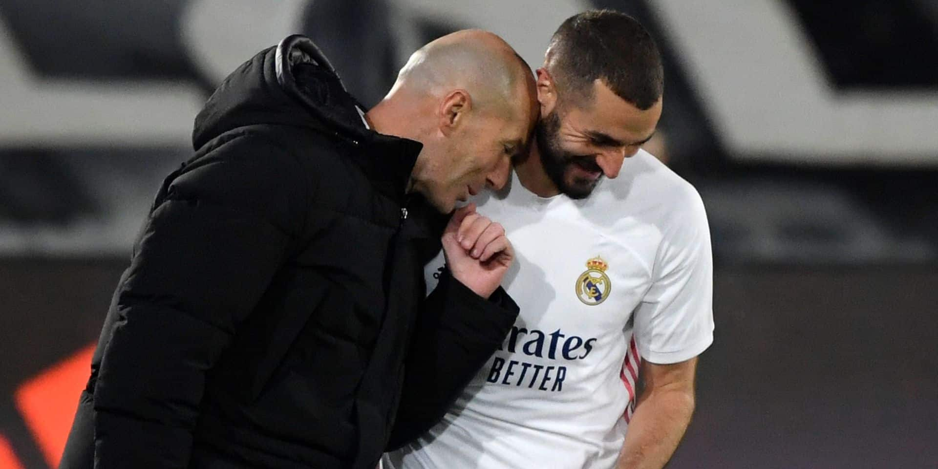 """Zidane sur l'affaire de la sextape: """"Je soutiens Benzema"""""""