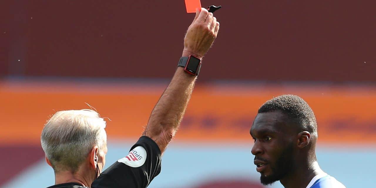 """Christian Benteke s'excuse: """"j'ai gâché ma saison avec ce carton rouge"""""""