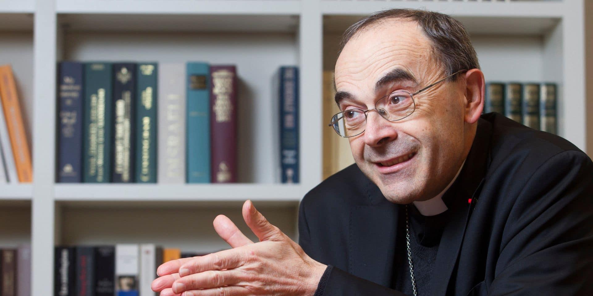 Le cardinal Barbarin sort du silence avec un livre sur l'affaire Preynat