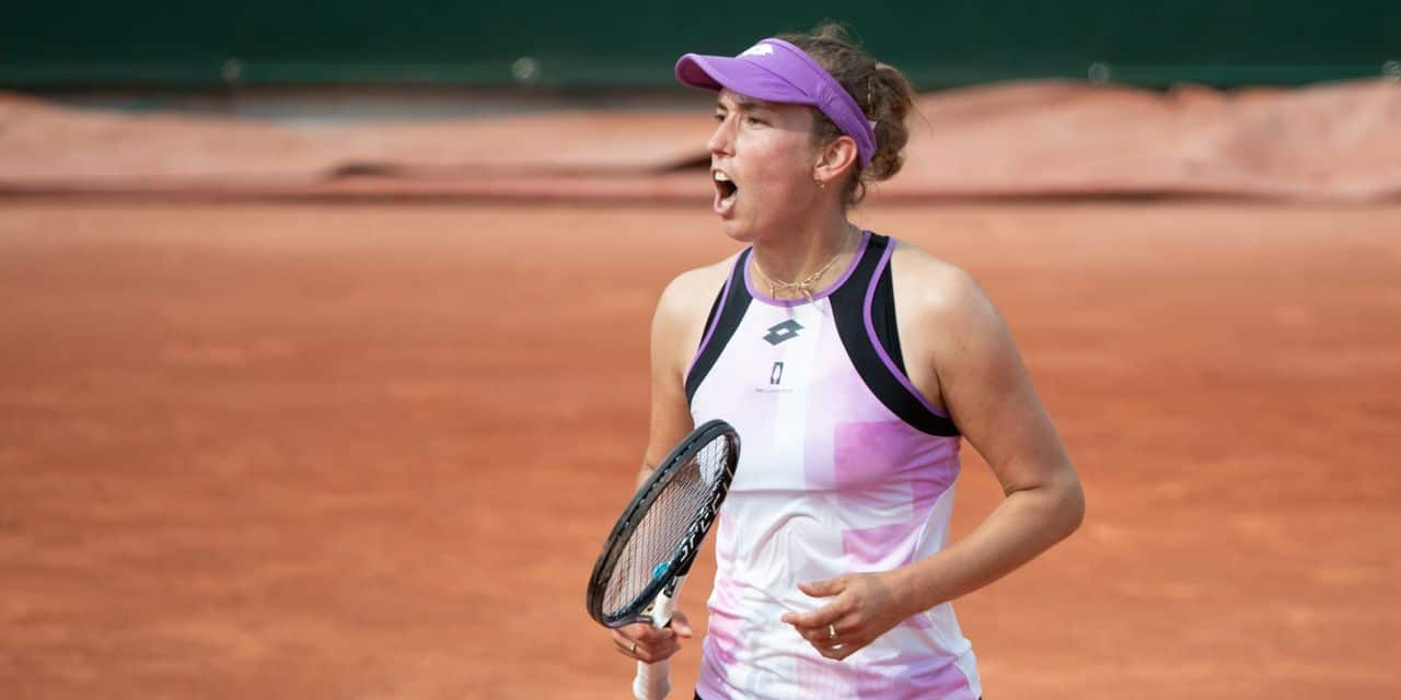"""Elise Mertens est ambitieuse à Roland-Garros: """"J'ai envie de plus"""""""
