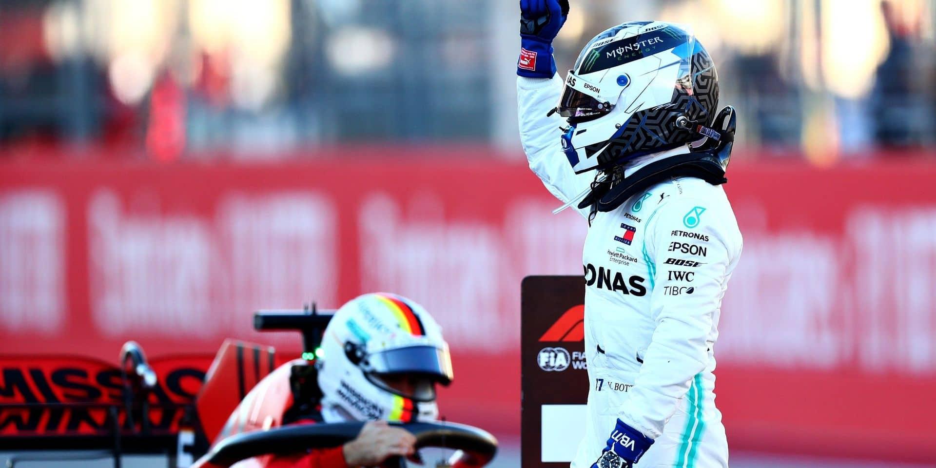 GP des Etats-Unis: la pole pour Valtteri Bottas aux Etats-Unis, Lewis Hamilton cinquième