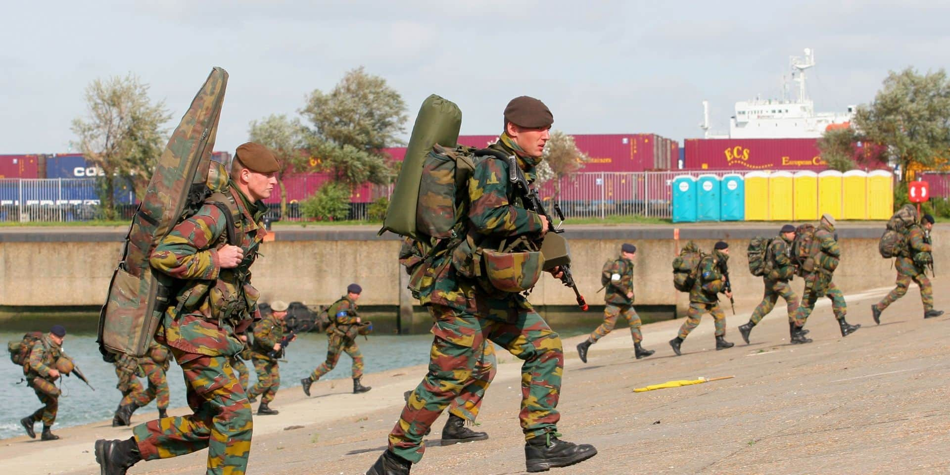 Quatre cents cas de contamination au Covid-19 au sein de l'armée belge