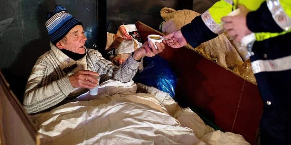Les équipes mobiles débutent la vaccination des personnes sans-abri à Bruxelles