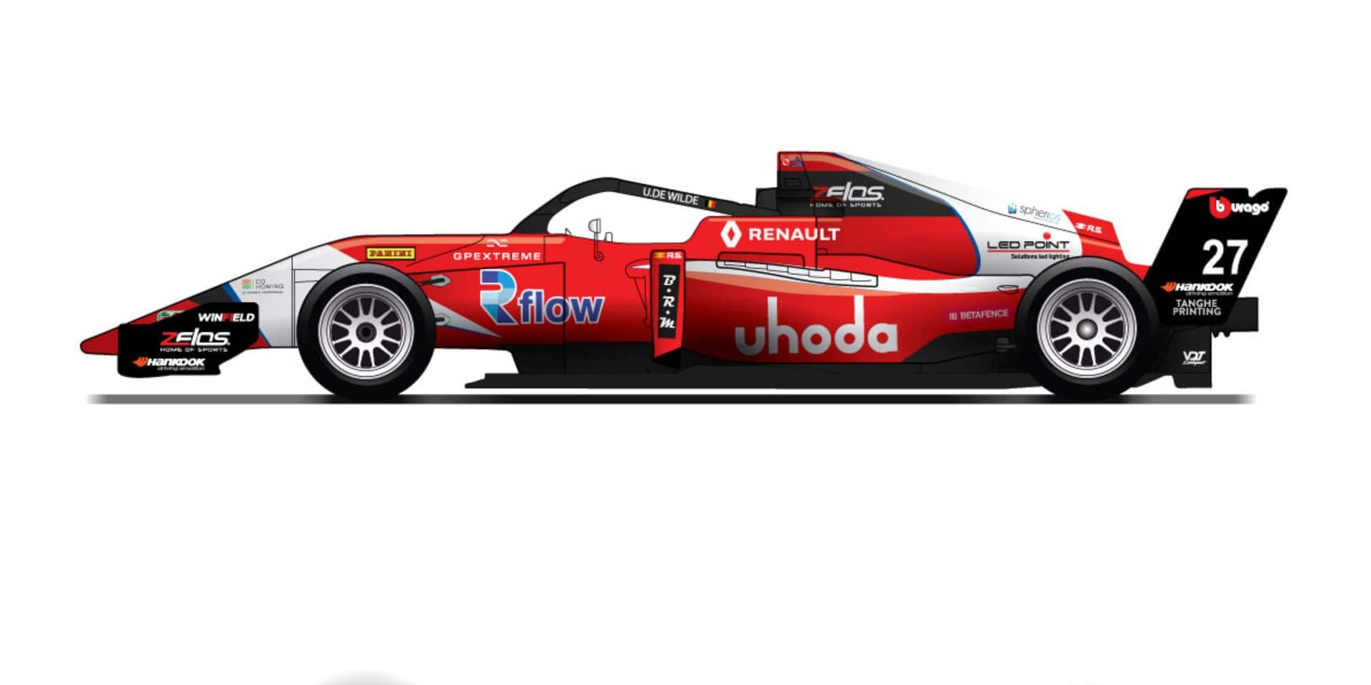 Ugo de Wilde rempile en Formule Renault Eurocup avec Arden Motorsport