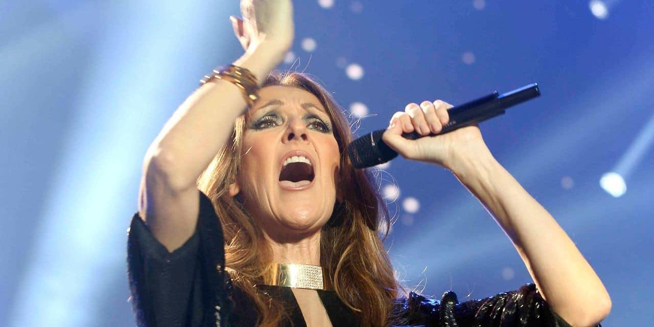 Céline Dion en concert en Belgique en mai 2020