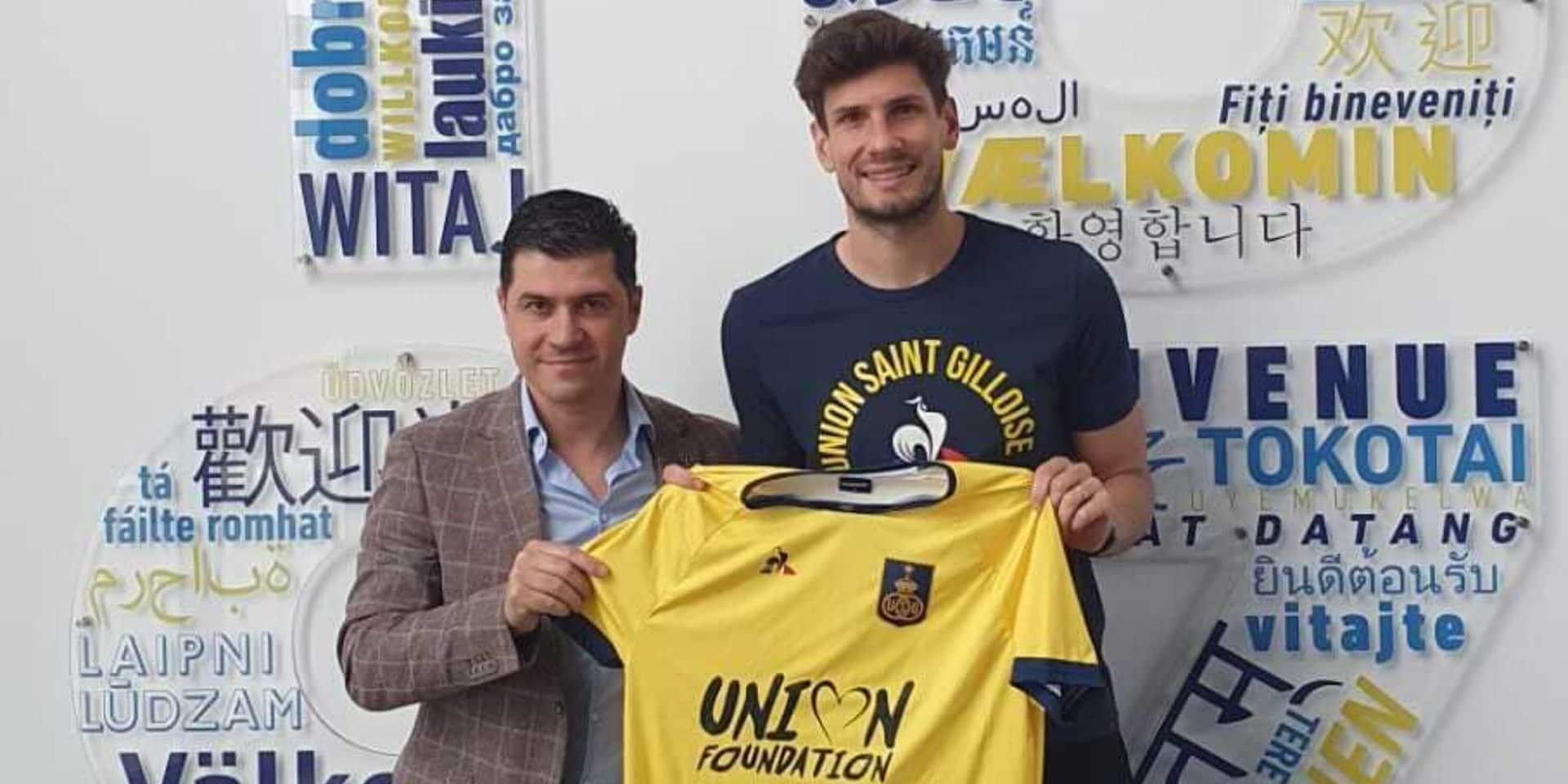 Officiel: Felipe Avenatti prêté par le Standard à l'Union