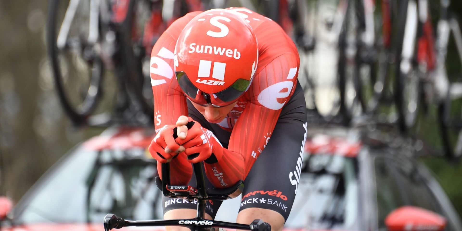Paris-Nice: Soren Kragh Andersen remporte le chrono, deux Belges dans le top 10