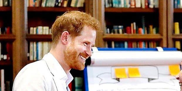 Harry, un prince décidément vert