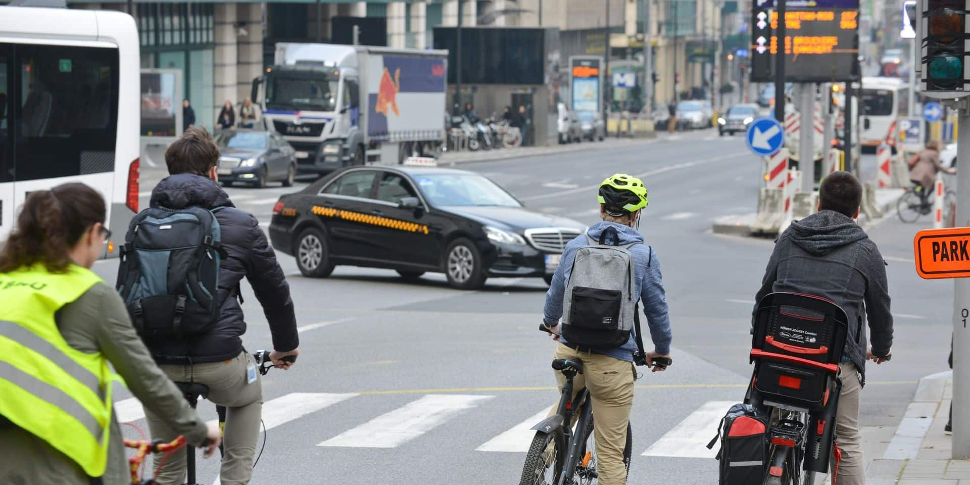 Voici les infractions les plus souvent commises par les cyclistes
