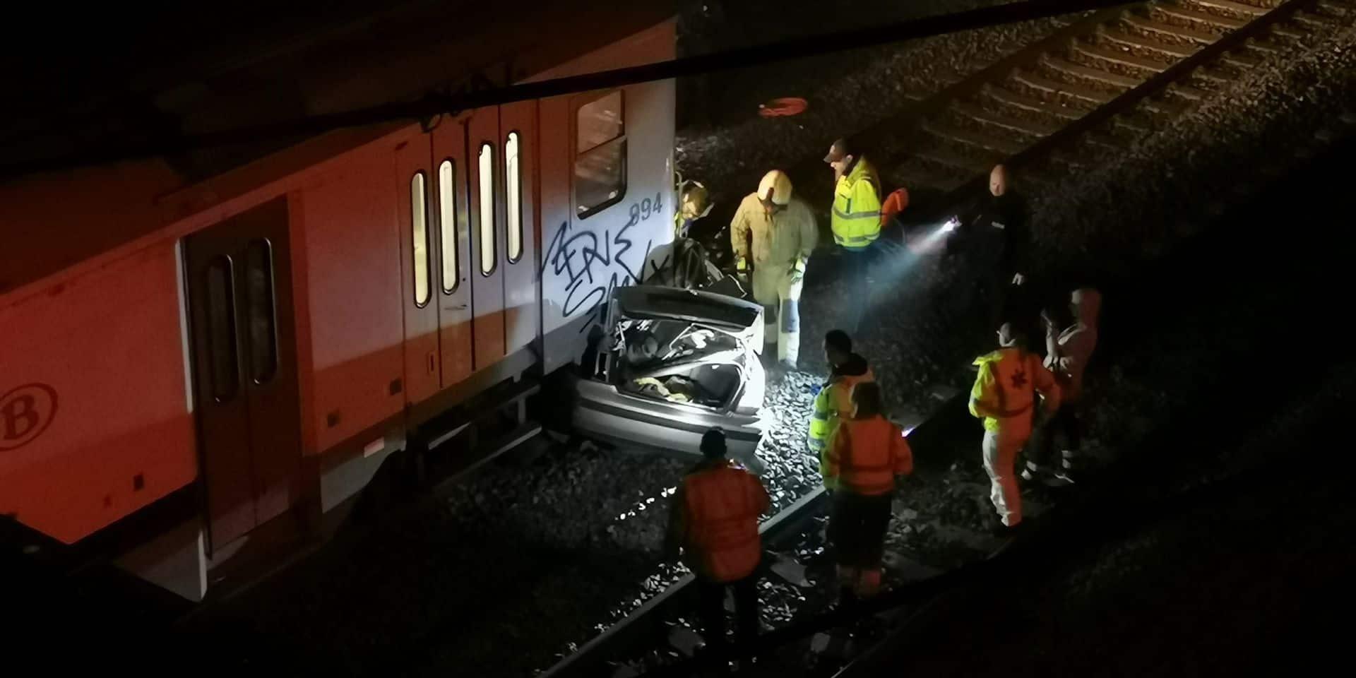 """Accident au passage à niveau """"de Marbais"""" : """"Il a délibérément zigzagué sur les rails"""""""