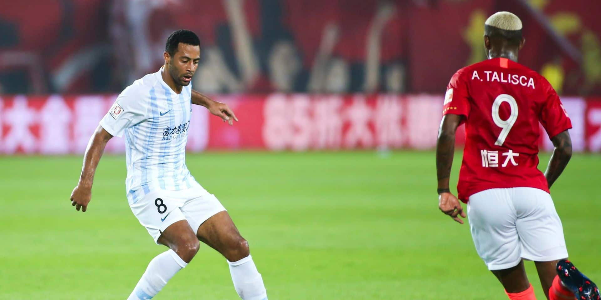 Les Belges à l'étranger: Dembélé et son équipe subissent une lourde défaite dans le derby de Guangzhou