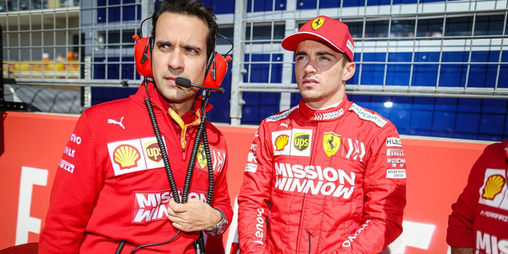 F1: pénalisé, Charles Leclerc ne s'élancera pas en pole au Brésil dimanche
