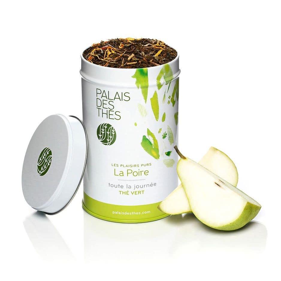 Du thé de qualité, comme celui                                                                                                        Palais des thés, boîte de 100 gr, 12 euros