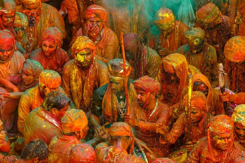 Une photo du festival Holi