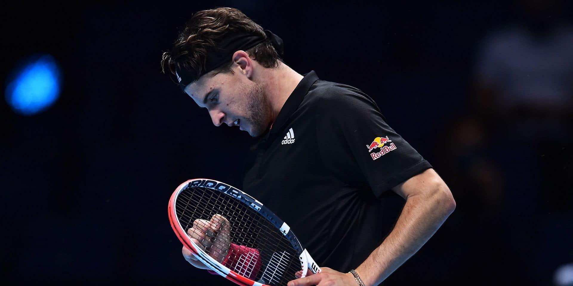 ATP Finals: Thiem s'offre Djokovic et se qualifie pour la finale