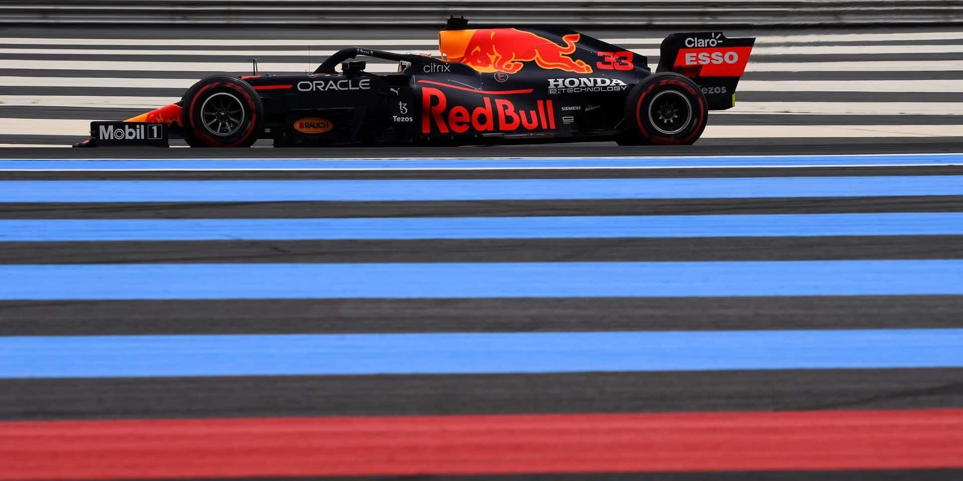 GP de France: la pole pour Verstappen devant Hamilton et Bottas !
