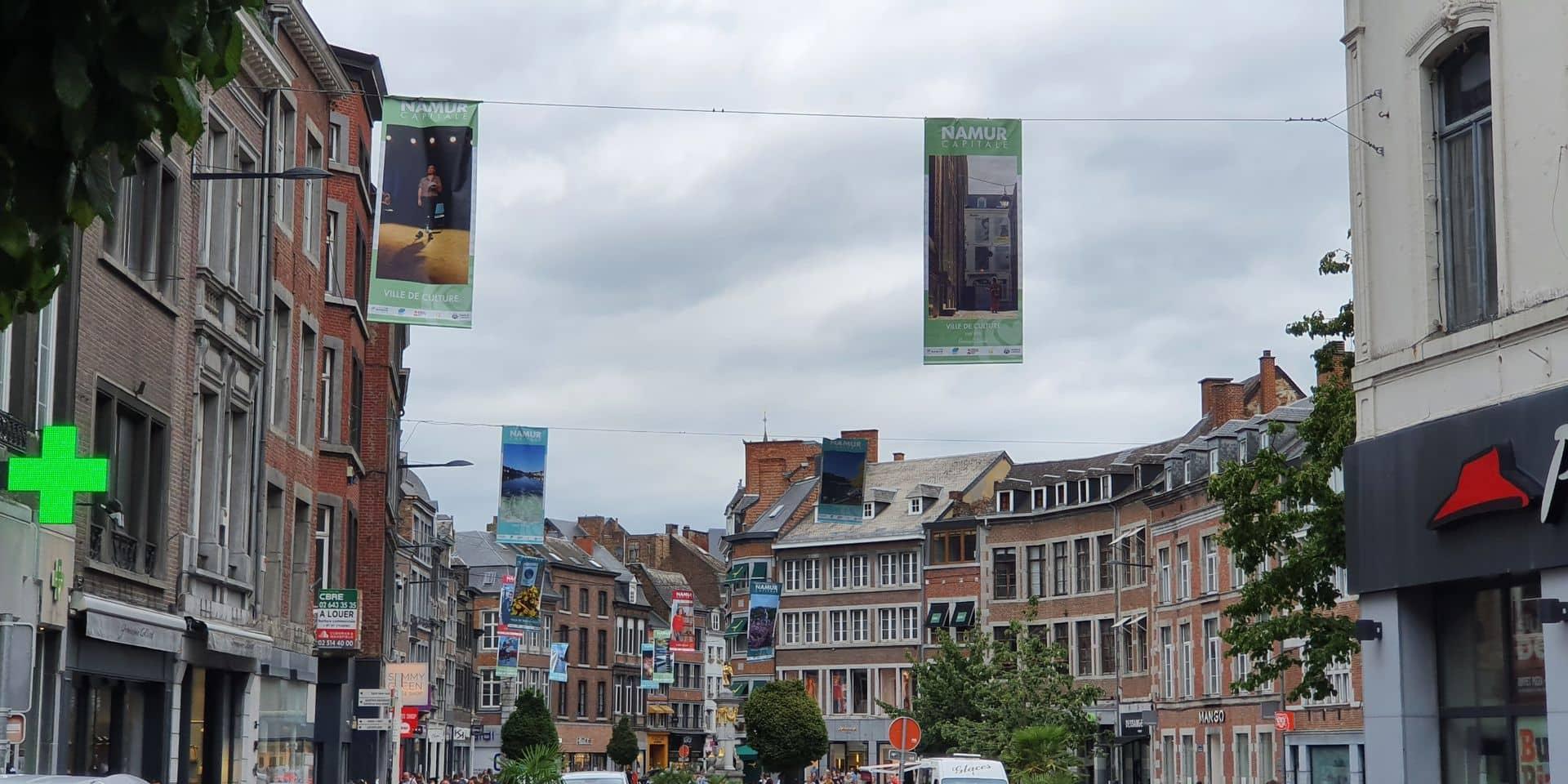 Namur Capitale : des oriflammes pour l'été 2020